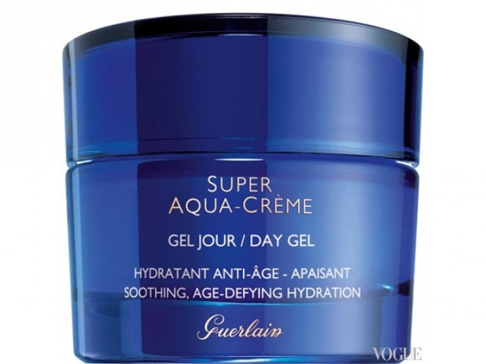 Увлажняющий дневной гель Super-Aqua Cr?me, Guerlain