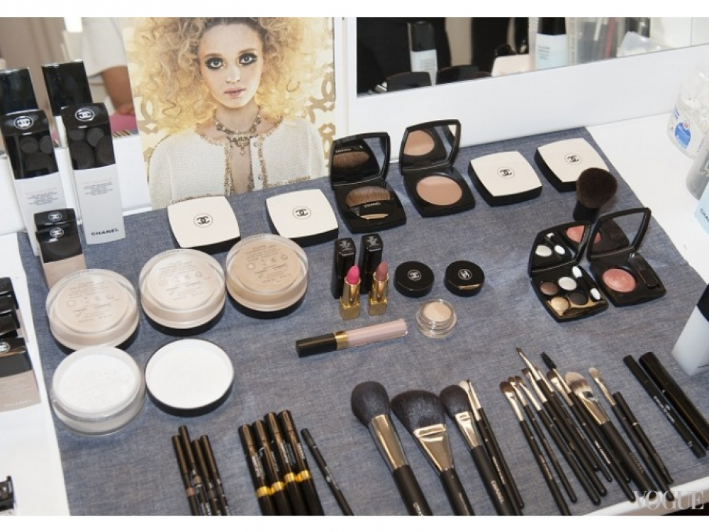 2014-15 Cruise Show Makeup CHANEL © CHANEL 2014  Фото: Vincent Lappartient