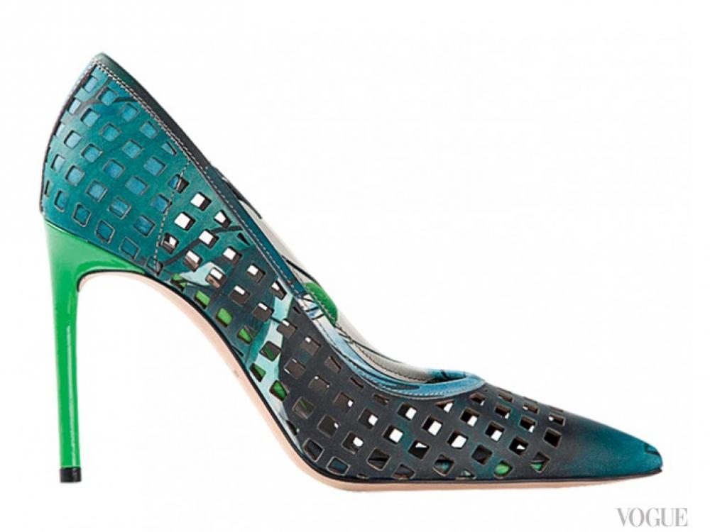 Туфли из перфорированной кожи, Reed Krakoff