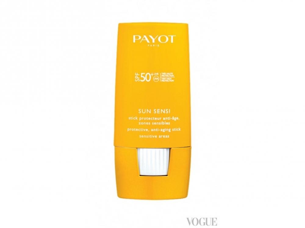 Защитный антивозрастной карандаш для чувствительных участков кожи (водостойкий), Sun Sensi, SPF 50+, Payot