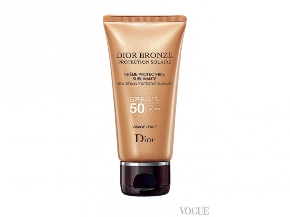 Солнцезащитный крем для лица Dior Bronze, SPF 50, Dior