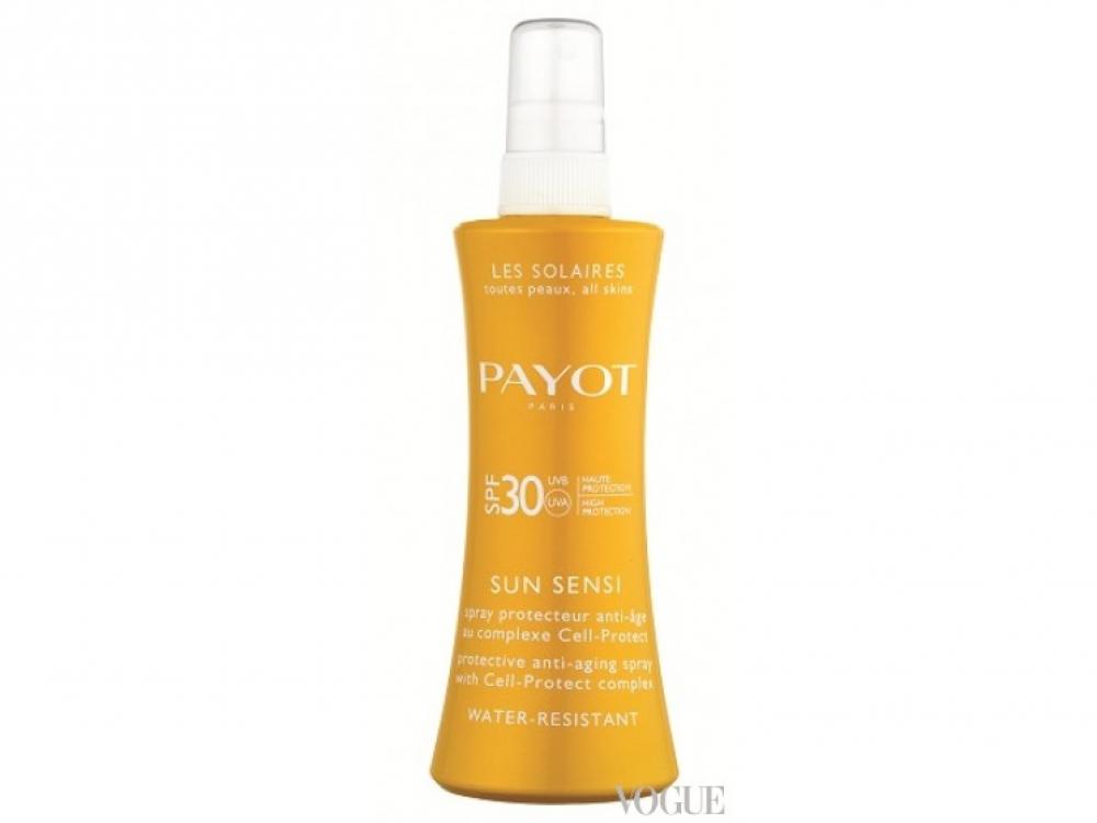 Антивозрастной защитный спрей, Sun Sensi, SPF 30, Payot