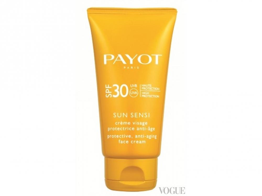 Солнцезащитный антивозрастной крем Sun Sensi, SPF 30, Payot