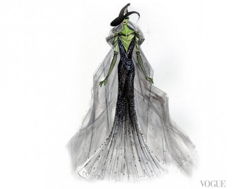 Платье Donna Karan для Злой Ведьмы