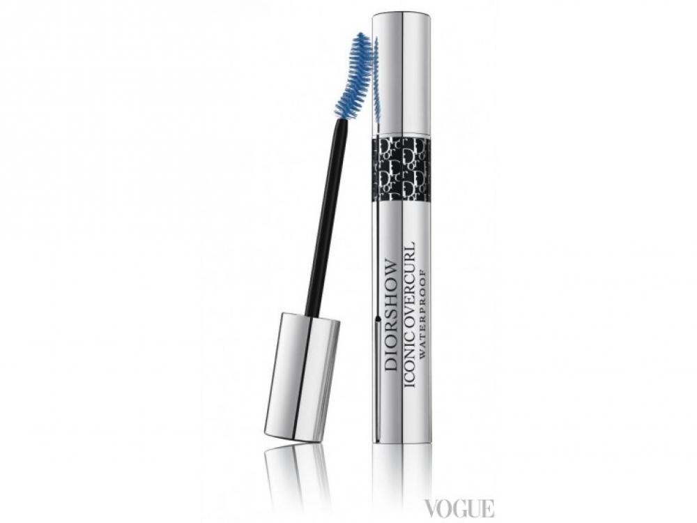 Водостойкая тушь Diorshow Iconic Overcurl Waterproof, 351 Cruise Blue, Dior