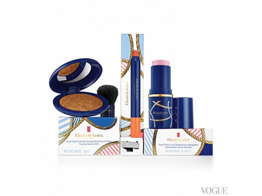 Лимитированная летняя коллекция макияжа Elizabeth Arden Summer Escape вдохновлена морской тематикой