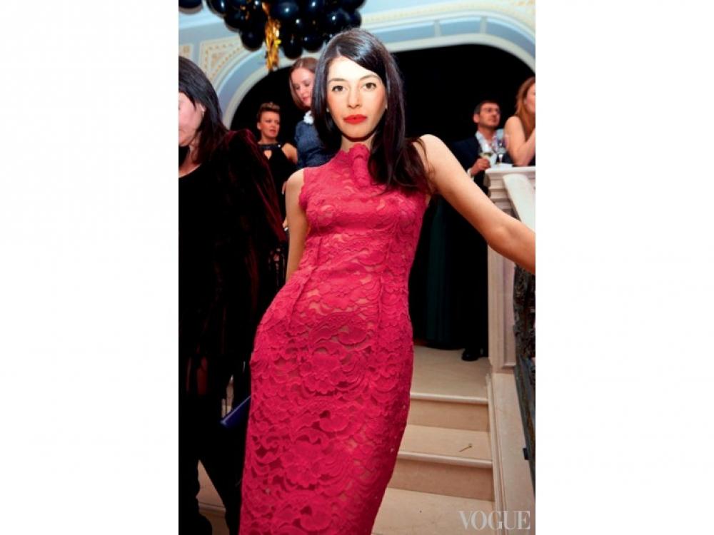 Соня Кваша на годовщине Vogue Украина