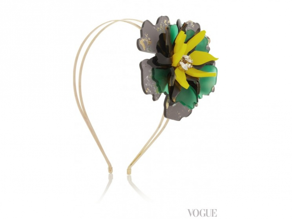 Обруч из коллекции Floramorta, Sam McKnight для Vicky Sarge