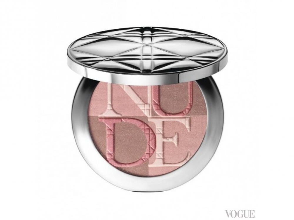 Пудра Diorskin Nude Shimmer, 001 Pink, Dior