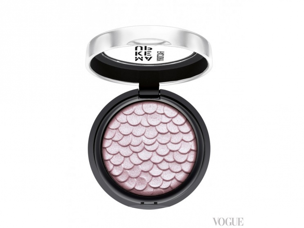 Тени Chromatic Glam Eyeshadow, №20 Pearly Pink, Make Up Factory, 239 грн.