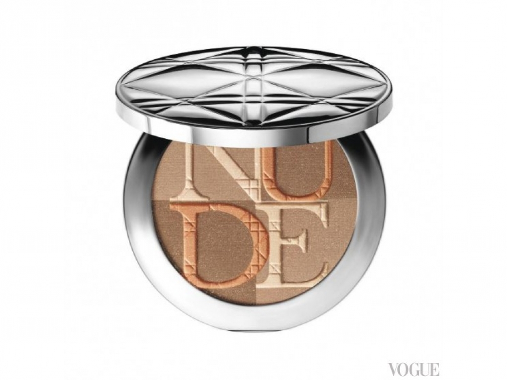 Пудра Diorskin Nude Shimmer 002 Amber