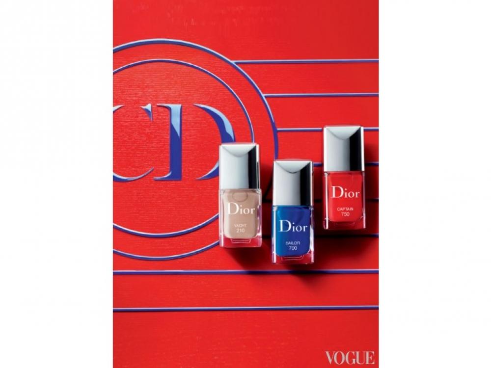 Лаки для ногтей Dior Manicure Transat