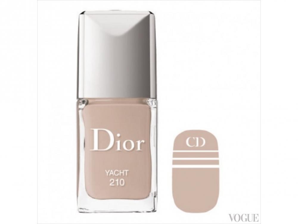 Лак для ногтей Dior Manicure Transat № 210 Yacht