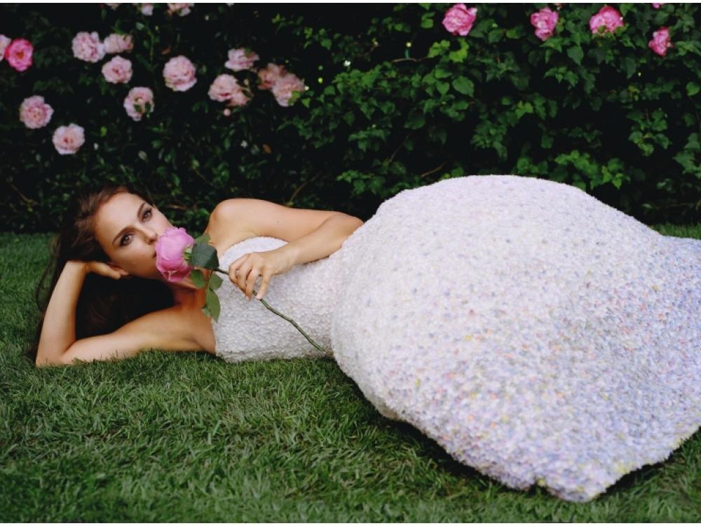 Натали Портман в рекламной кампании Miss Dior