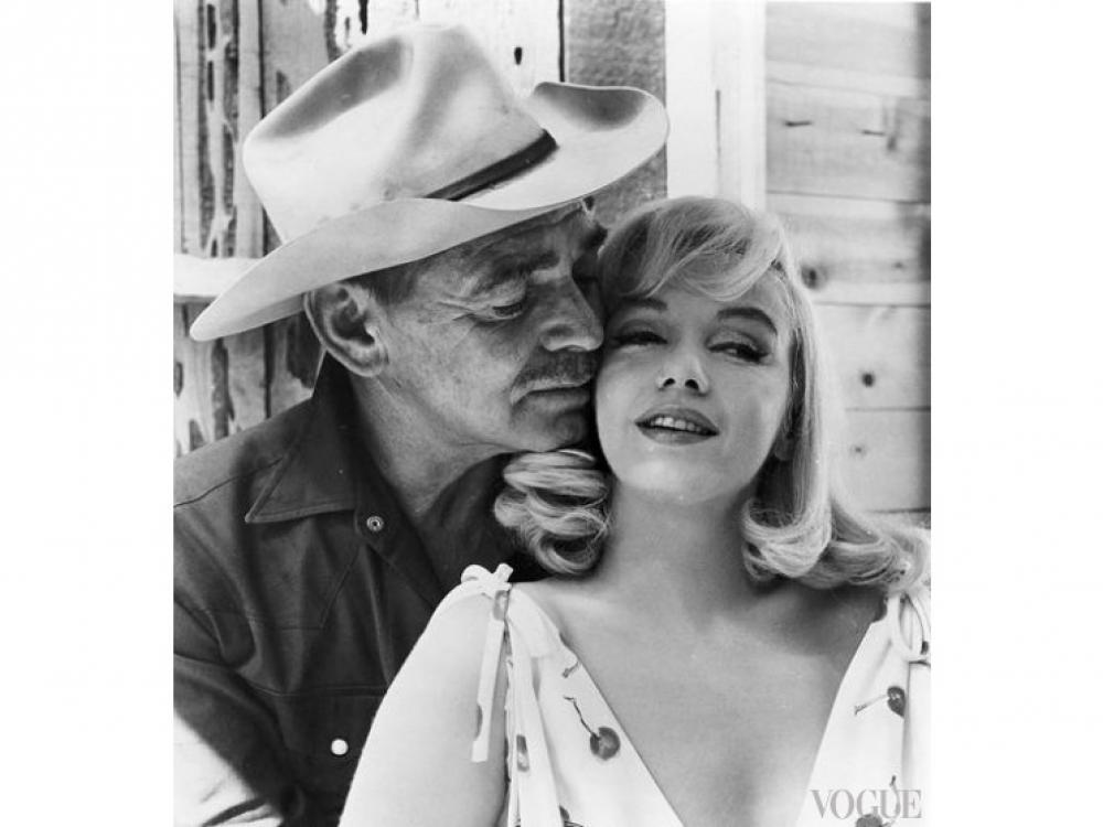 """Мэрилин Монро и Кларк Гейбл, """"Неприкаянные"""" ( 1961 год)"""