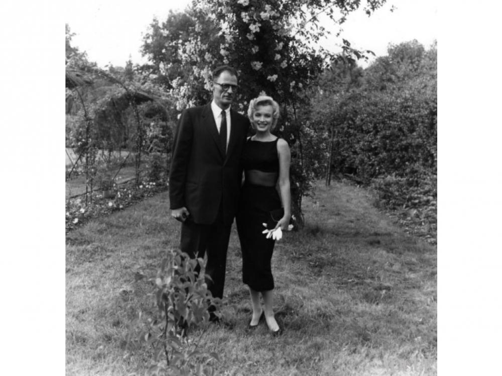 Артур Миллер и Мэрилин Монро (1956 год)