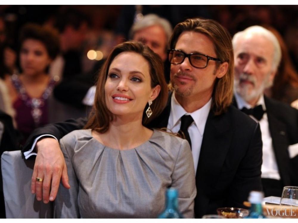| Анджелина Джоли и Брэд Питт