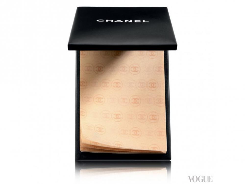 Матирующие салфетки Papier Matifiant de Chanel, Chanel