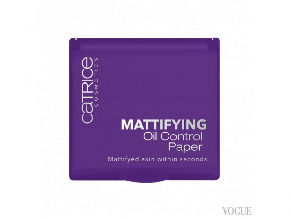Матирующие салфетки Mattifying Oil Control System, Catrice
