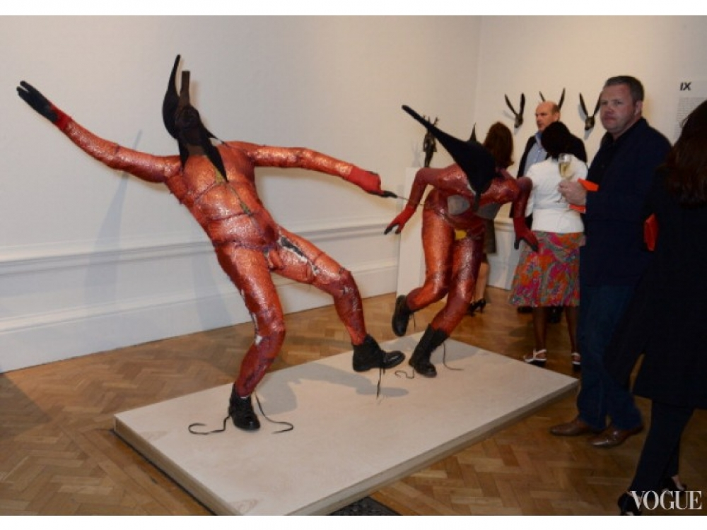Экспозиция в Королевской Академии художеств