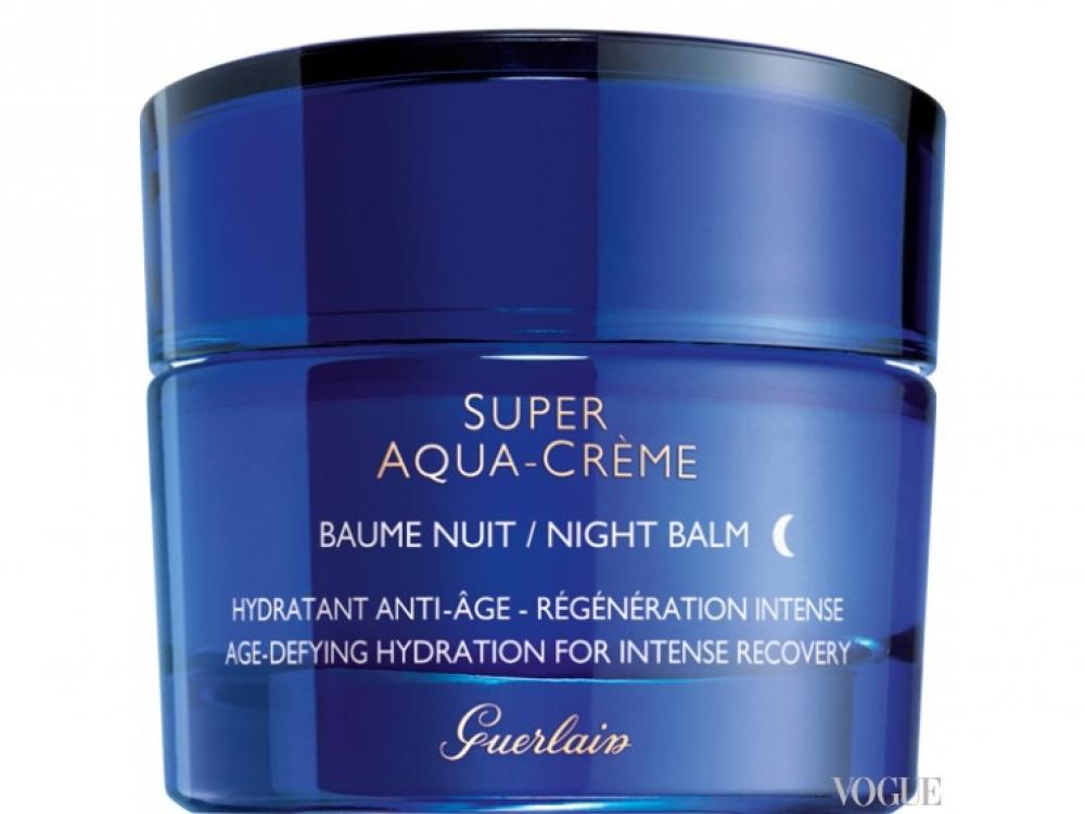 Ночной увлажняющий бальзам Super Aqua Cream Night Balm, Guerlain