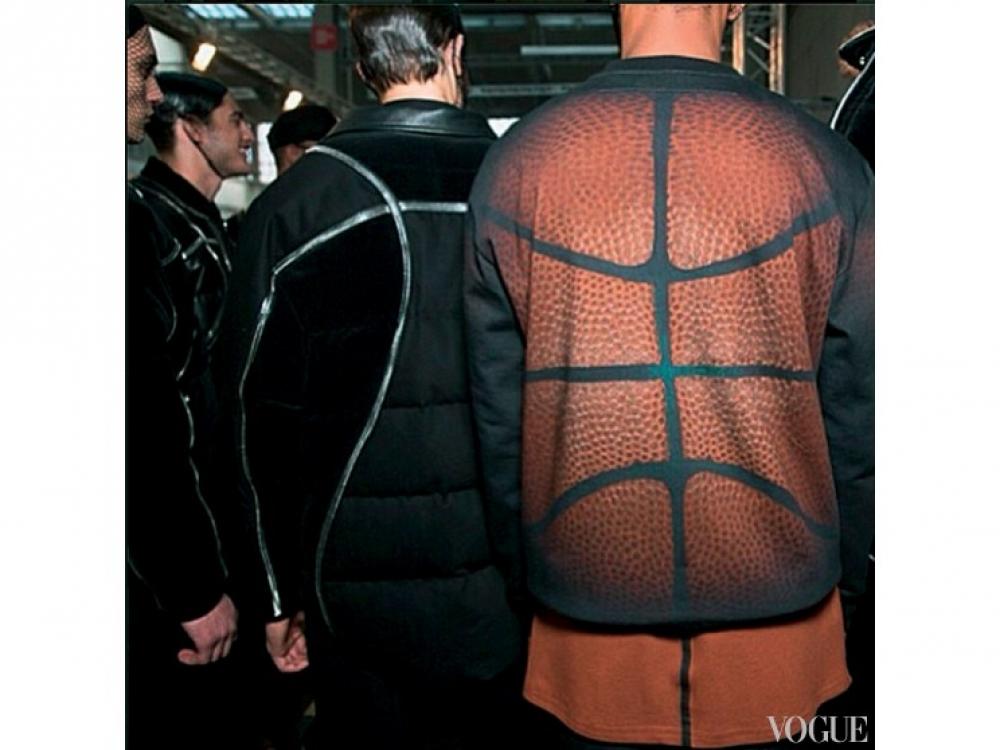Бэкстейдж мужского показа Givenchy осень-зима – 2014/2015