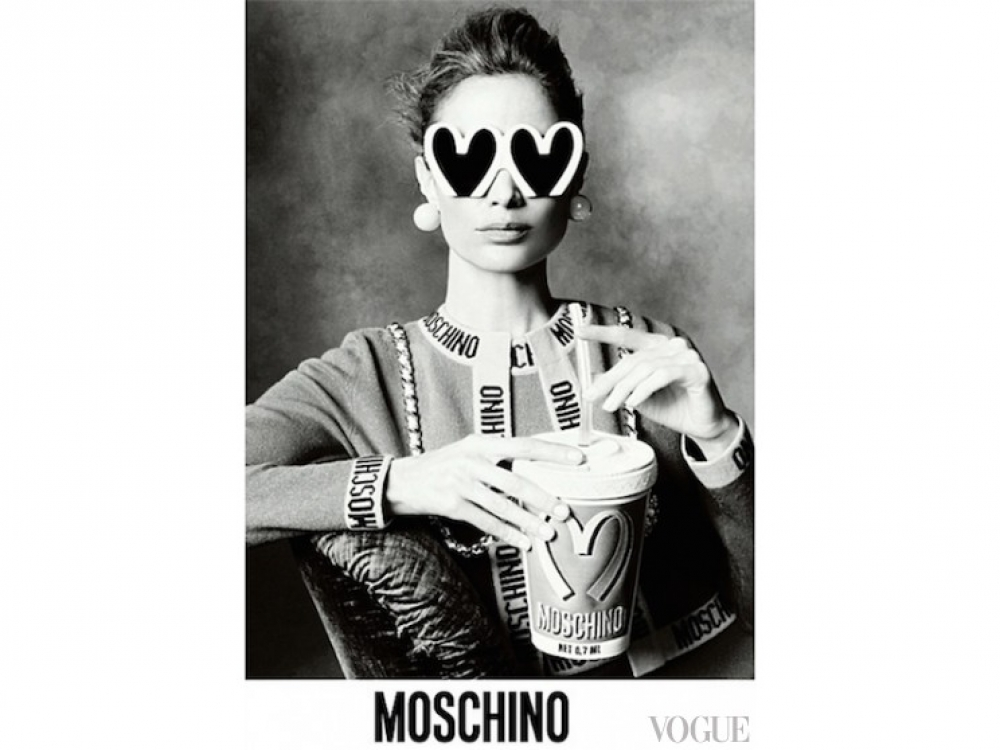 |Кэролин Мерфи в рекламе Moschino
