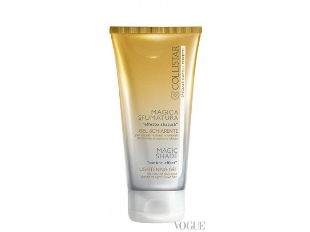 Осветляющий гель для волос для создания эффекта «омбре» Magic Shade Lightening Gel, Collistar