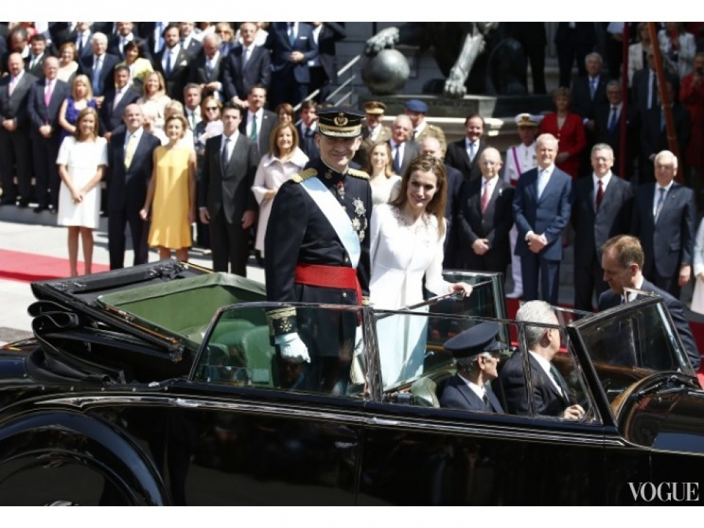 |Король Фелипе VI и королева Летиция