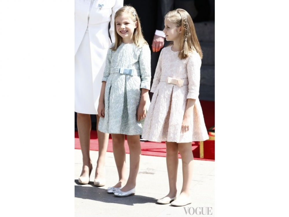 Принцесса София и принцесса Леонор