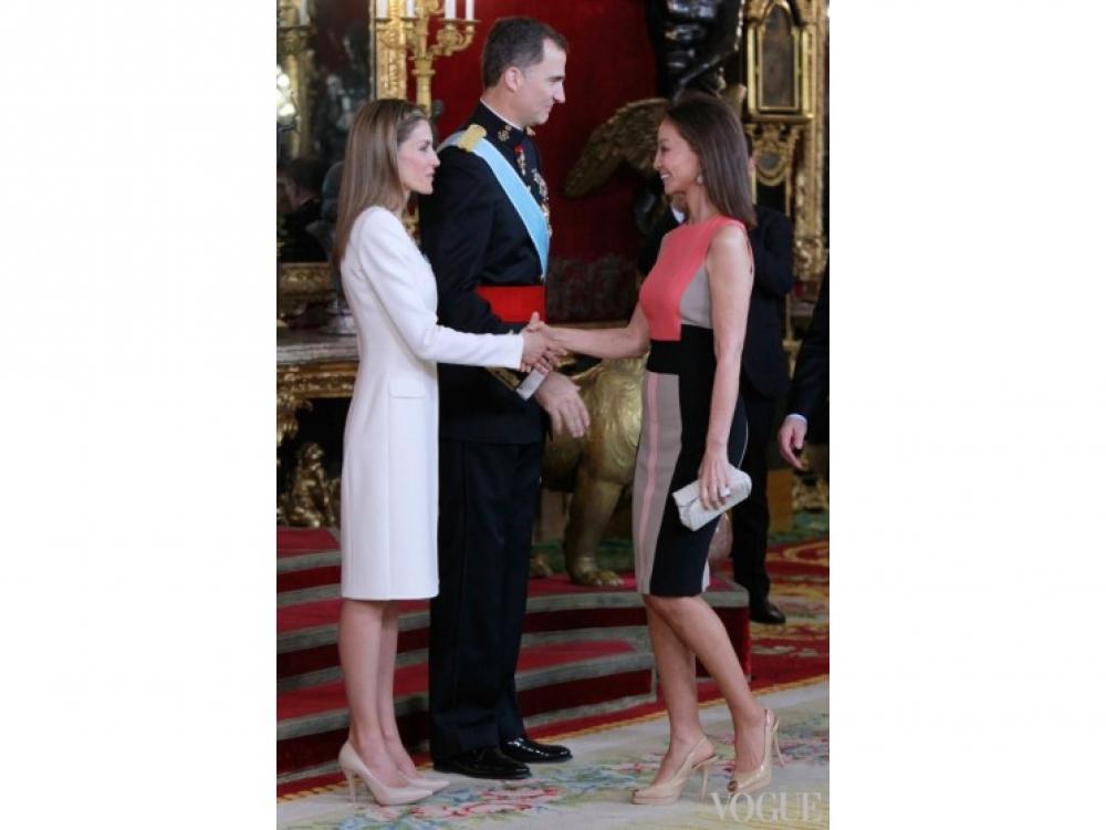 Король Фелипе VI и королева Летиция  поздравления