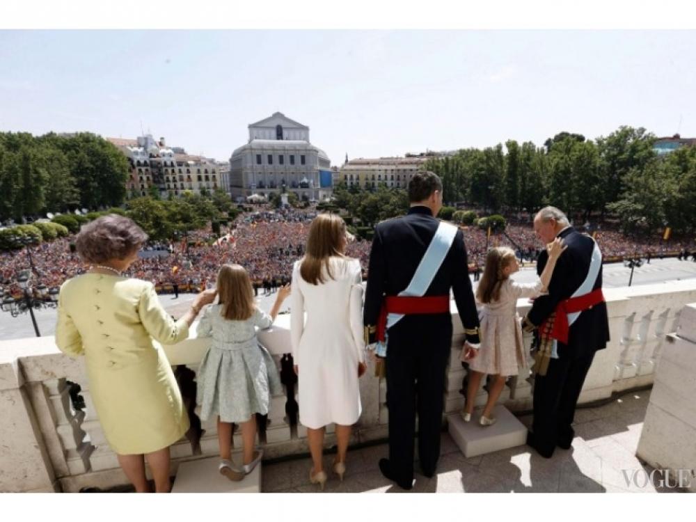 Вся королевская семья в сборе