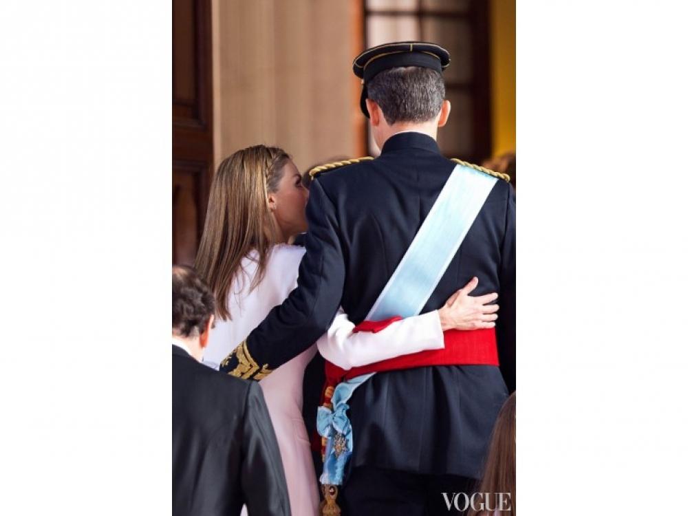 Король Фелипе VI и королева Летиция