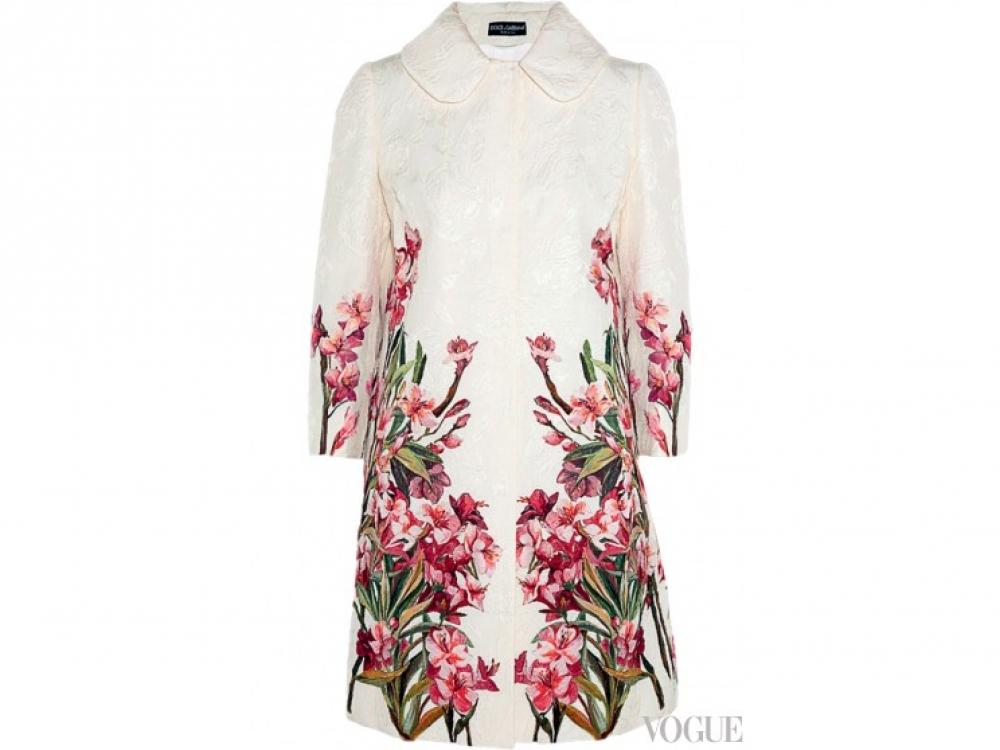 Пальто из жаккарда, Dolce & Gabbana