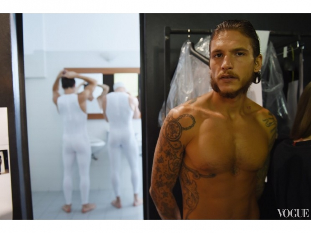 |бэкстейдж недели мужской моды