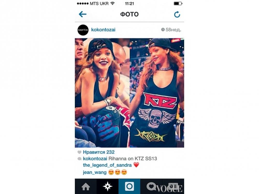 Instagram KTZ: фото хип-хоп-знаменитостей и местных модников, охотно позирующих в интерьерах магазина Kokon To Tzai, с которого стартовали основатели бренда KTZ