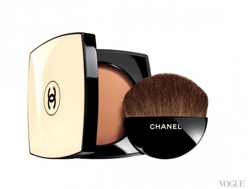 Пудра с естественным оттенком загара Les Beiges, Chanel