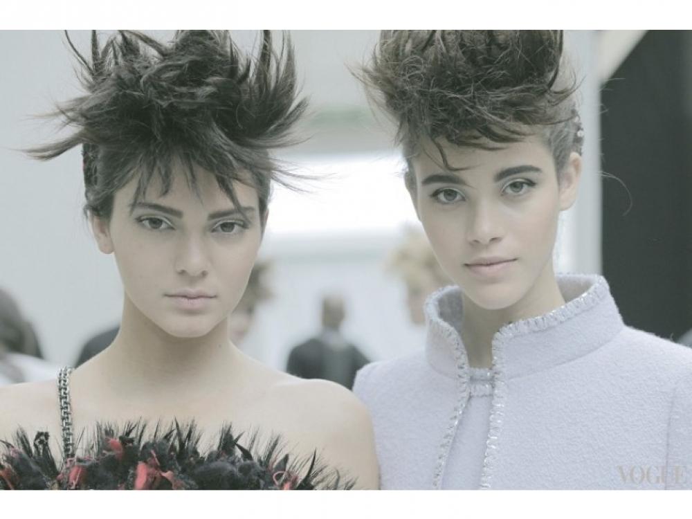 За кулисами показа Chanel Haute Couture осень-зима 2014