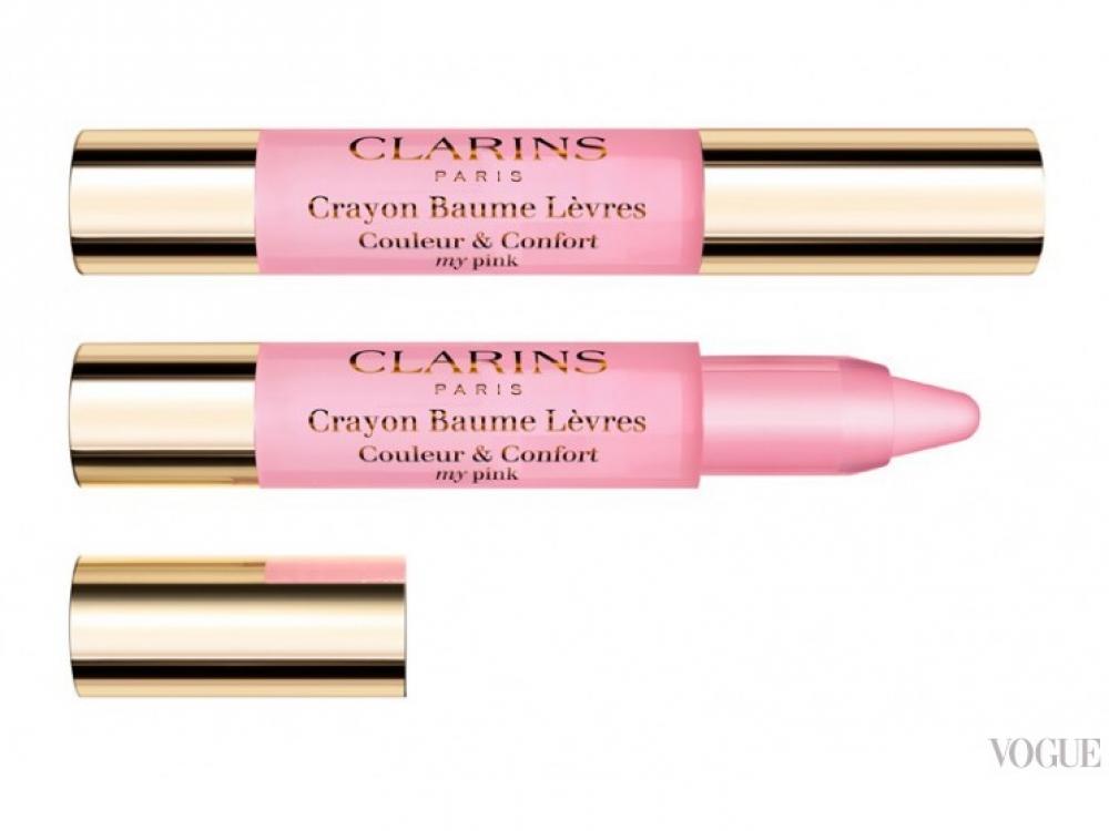 Карандаш-бальзам для губ Crayon Baume L?vres, №01 My Pink, Clarins