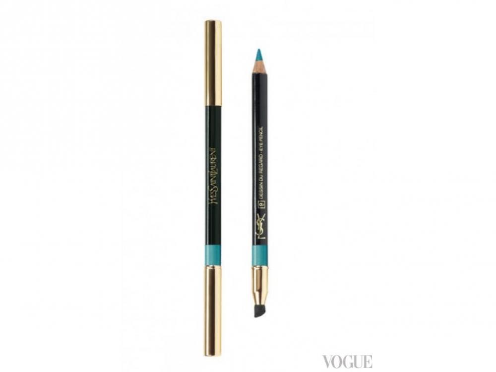 Водостойкий карандаш для глаз Dessin Du Regard Waterproof, № 12, Yves Saint Laurent