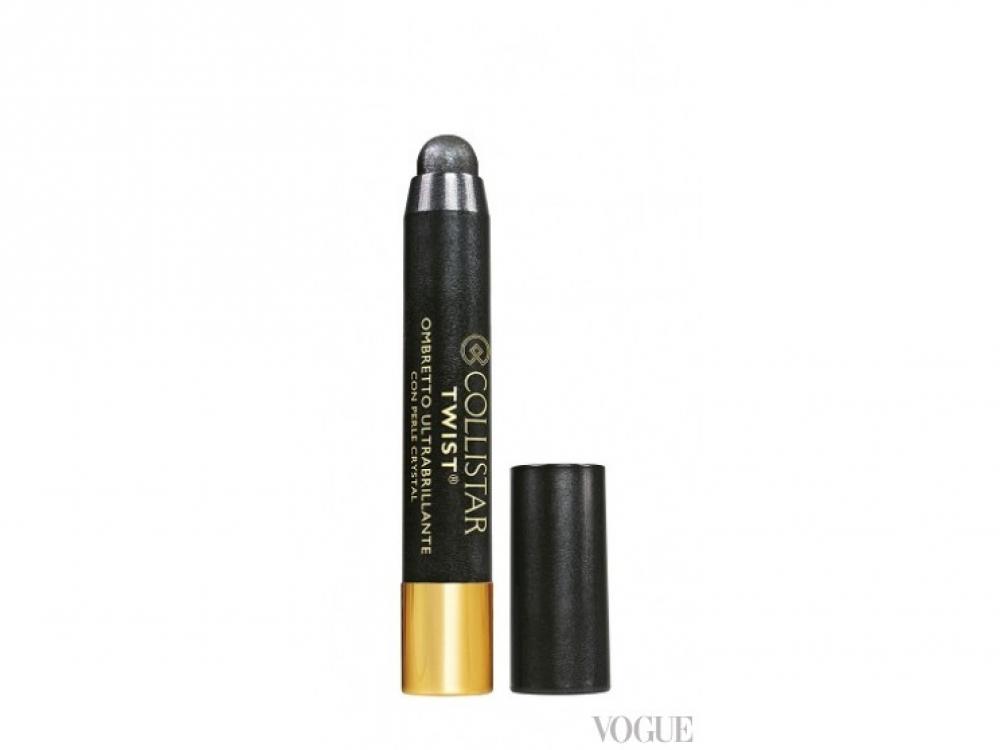 Тени-карандаш с частицами жемчуга Twist Ultra-Shiny, N.108 Titanio, Collistar