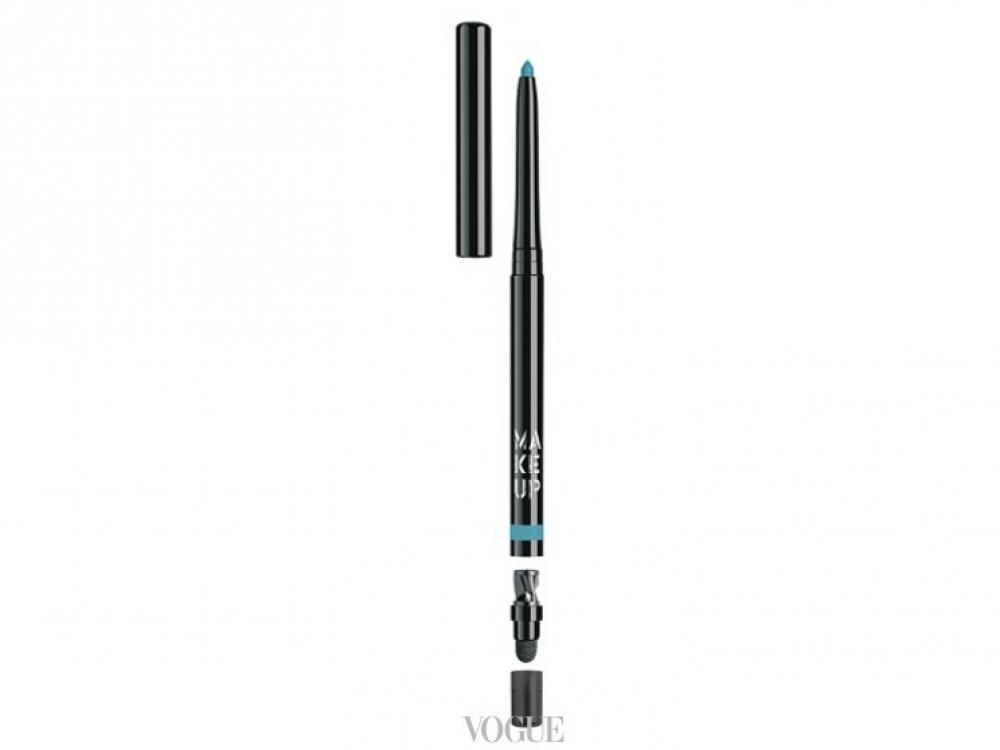 Кремовый карандаш Metallic Eyeliner, №15 Metallic Lagoon, Make Up Factory