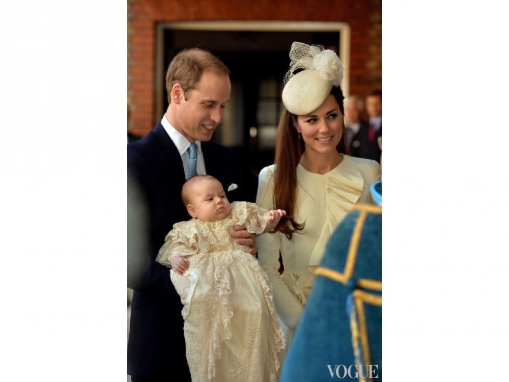Крестины принца Георга во дворце Сент-Джеймс, октябрь 2013 года