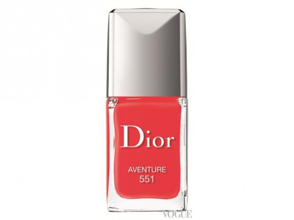 Лак для ногтей Dior Vernis, № 551 Aventure, Dior