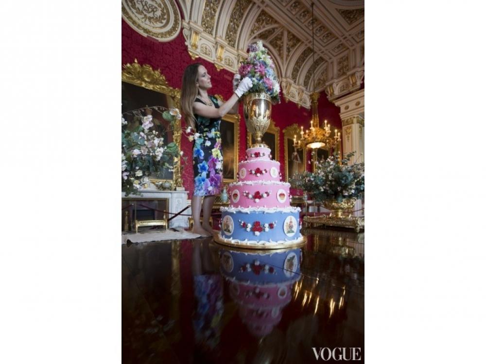 Именинный торт принца Леопольда в честь его крестин, 1853 год
