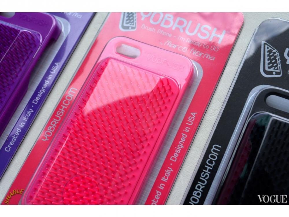 |Расческа-чехол для телефона YoBrush