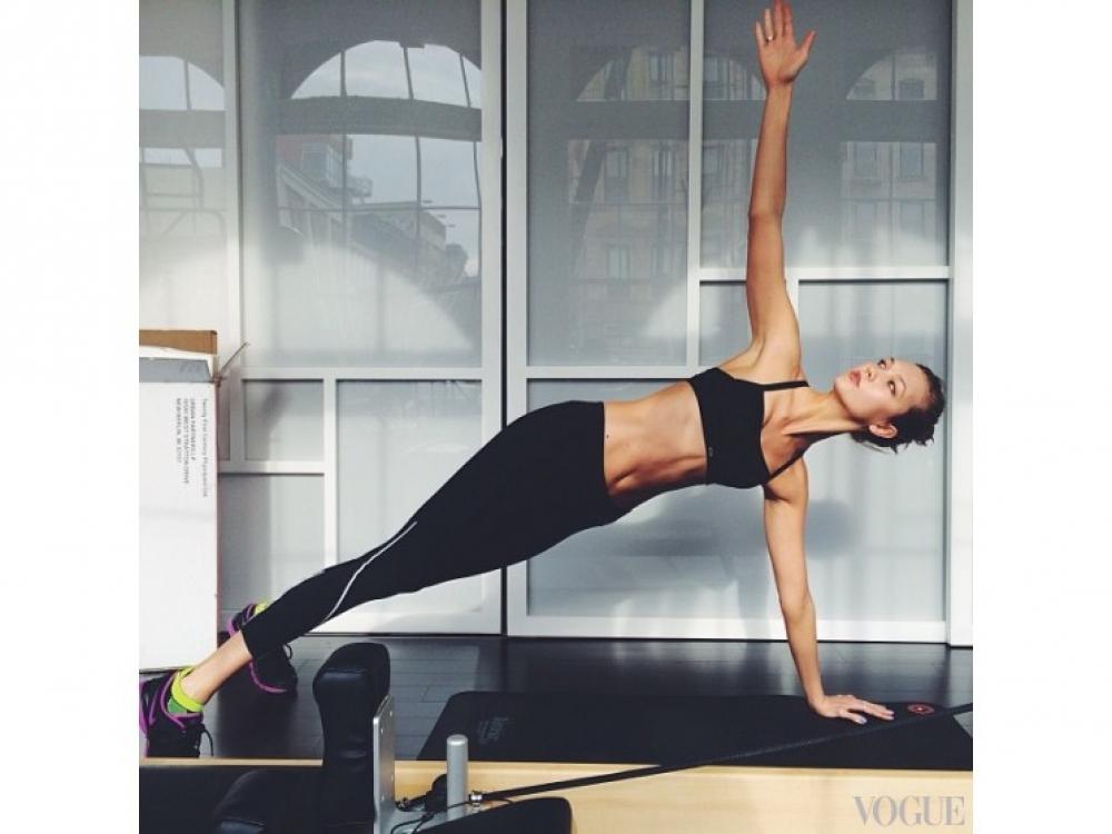 |Карли Клосс фигура, тренировки