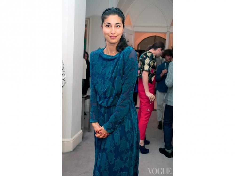 Каролин Исса в платье Osman