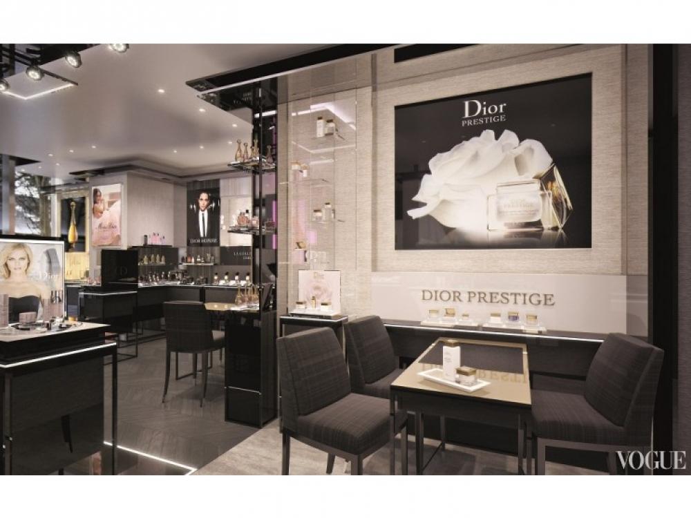 |Бутик Dior Perfume & Beauty в Токио