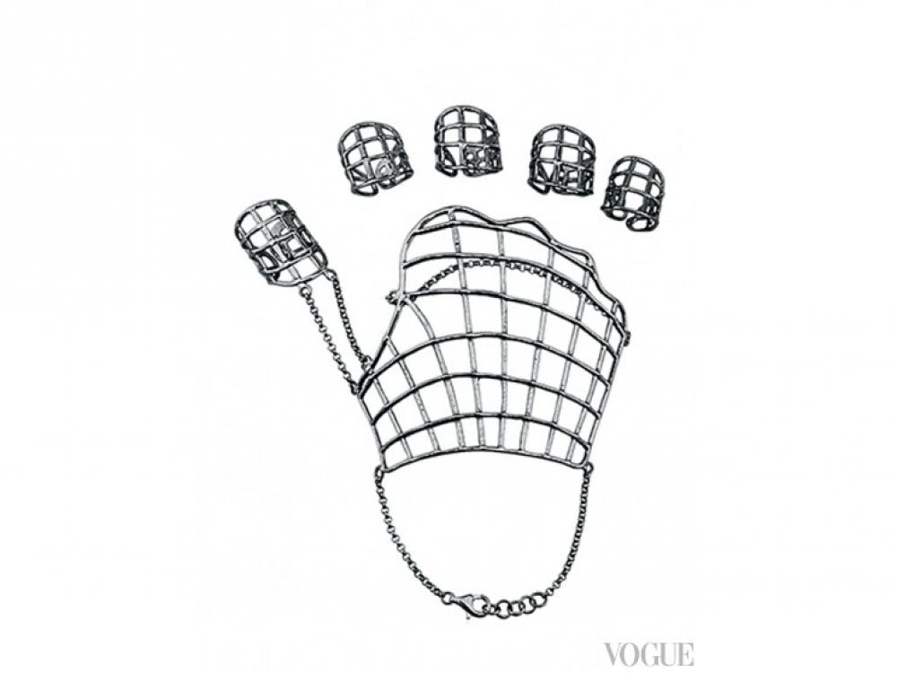 Браслет и кольца, серебро, покрытое чёрным радием, всё MVP